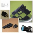 Флешка - пистолет, USB 2.0, 4GB / 8GB / 16GB / 32GB