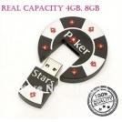 Флешка - покер, USB 2.0, 4GB / 8GB (5 штук)