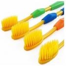 Зубная щетка желтого цвета (8 штук)