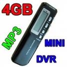 4G10 - цифровой диктофон, 4GB, LCD, USB, MP3, WAV