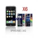 Защитная пленка для iPhone 3G/3GS (6 штук)