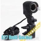 Патрон-адаптер E27 для ламп, поддержка крепления зонтов AE1A