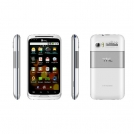 "A007 - смартфон, Android 2.3, 4.0"" сенсорный экран, 3G, Wi-Fi, GPS, 2 SIM"