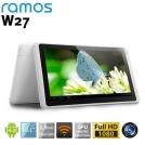 "Ramos W27 - планшетный компьютер, Android 4.0.3, 10.1"" TFT LCD, Amlogic AML8726-MX (1.5GHz), 1GB RAM, 16GB ROM, Wi-Fi, 0.3MP фронтальная камера"