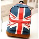 Рюкзак женский спортивный с изображением британского флага