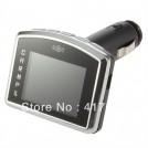 "Автомобильный FM-трансмиттер - MP4 плеер, 1.8"", SD/MMC, USB, ПДУ"