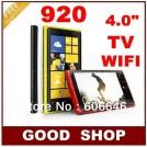"n920 TV - телефон, 4.0"" HVGA, 2 SIM-карты, поддержка карт microSD, GSM, Wi-Fi, Bluetooth, TV, FM-радио, камера 1МП"