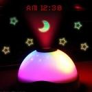 Ночник - проектор с часами
