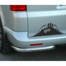 """Стикер """"Подглядывающий монстр"""" для автомобиля"""