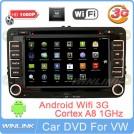 Авто ПК для VW Golf 5/6, Passat, Tiguan - Android 2.3.4, DVD, GPS, 3G, Wi-Fi