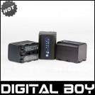NP-QM71D - 3 аккумулятора Li-ion 2600 мАч для Sony CCD-TRV138 Hi8