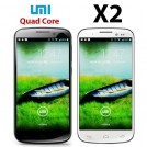 "UMI X2 - смартфон, Android 4.2, MT6589T 1.5GHz, 5"", 2 SIM-карты, 2GB RAM, 32GB ROM, Wi-Fi, Bluetooth, GPS, основная камера 13МП и фронтальная камера 2МП"