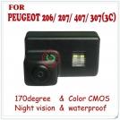 Парковочная камера для Peugeot 206/207/407/307