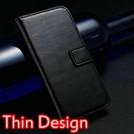 Кожаный сверхтонкий чехол для iPhone 5 с отделением для пластиковых карт