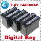 NP-F970 - 3 аккумулятора для Sony CCD-RV100 CCD-TRV58 DCR-TRV110K