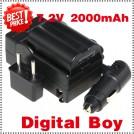 EN-EL3 - батарея LI-ION, зарядное устройство, автомобильное зарядное устройство для камер Nikon EN-EL3a D70s D70 D5