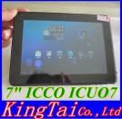 "Icoo Icou 7 - планшетный компьютер, Android 4.0.3, 7"" IPS, Amlogic AML8726-M6 (1.5GHz), 1GB RAM, 8GB ROM, HDMI, Wi-Fi, 1.3MP фронтальная камера"