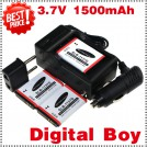SLB-1137D  - аккумулятор + зарядное устройство + автомобильное зарядное устройство для Samsung TL34HD NV106 HD i85 i100