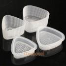 Комплект треугольных форм для изготовления суши, 2 пары