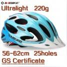 Велосипедный шлем сверх легкий, 25 отверстий