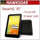"SmartQ S7 Dual Core - планшетный компьютер, Android 4.0.3, 7"" IPS, TI OMAP 4430 (2x1GHz), 1GB RAM, 4GB ROM, HDMI, Wi-Fi, 2MP фронтальная камера"