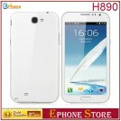 "Tianji H890 - смартфон, Android 4.1.1, MTK6577 (2x1.2GHz), qHD 5.4"" TFT LCD, 512MB RAM, 4GB ROM, 3G, Wi-Fi, Bluetooth, GPS, 8MP задняя камера, 0.3MP фронтальная камера"