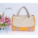 Женская элегантная сумка-почтальонка из полиуретановой кожи