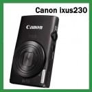 "Canon IXUS230 - цифровая камера,12MP, 3"" TFT дисплей, 8х оптический зум"
