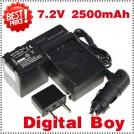 VW-VBN260 - аккумулятор + зарядное устройство + автомобильное зарядное устройство для Panasonic HDC-Tm900 HDC-SD900
