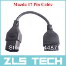 Кабель-адаптер для Mazda: 17-контактный разъем - стандарт OBD2