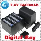 NP F970 - аккумулятор + зарядное устройство + автомобильное зарядное устройство для Sony NP-F960 NP-F950 NP-F930