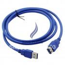 Кабель синхронизации USB 3.0, удлинитель, 1.5м, синий