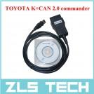 TOYOTA K+CAN 2.0 - программное обеспечение и кабель