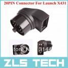 Launch X431 GX3 адаптер, 20ти контактный