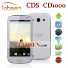 "CDS CD1000 - смартфон, Android 4.0.4, MTK6577 (2x1.2GHz), HD 4.5"" IPS, 1GB RAM, 4GB ROM, 3G, Wi-Fi, Bluetooth, GPS, 5MP задняя камера, 0.3MP фронтальная камера"