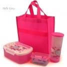 Детская сумка Хэллоу Китти со столовыми приборами для пикника\путешествий