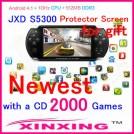 "JXD S5300 - игровая консоль, Android 4.1.1, GP33003 (1GHz), 5"" TFT LCD, 512MB RAM, 4GB ROM, Wi-Fi, 0.3MP фронтальная камера"