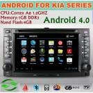 Greenyi G-6227A - Авто ПК для Kia Cerato, Carens, Ceed, Rondo, Rio, Sorento, Android, 3G, Wi-Fi, DVD, GPS, Bluetooth, SD