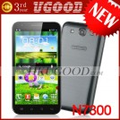 "Changjiang N7300 - смартфон, Android 4.0.4, MTK6577 (2x1.2GHz), HD 5.7"" TFT LCD, 1GB RAM, 4GB ROM, 3G, Wi-Fi, Bluetooth, GPS, 8MP задняя камера, 0.3MP фронтальная камера"