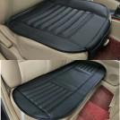 Комплект кожаных накладок на сиденье автомобиля, универсальные, 3шт