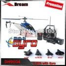 Double Horse 9104 - большой радиоуправляемый однороторный вертолет с гироскопом, 71 см