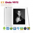 "Onda V972 - планшетный компьютер, Android 4.1.1, Retina 9.7"" IPS, Allwinner A31 (4x1.2GHz), 2GB RAM, 16GB ROM, Wi-Fi, Bluetooth, HDMI, 2MP фронтальная камера, 5MP задняя камера"