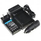BLS1 - аккумулятор + зарядное устройство + автомобильное зарядное устройство для OLYMPUS E-PL1 E400 E410 E420 E450 E620 E-P1E-P2