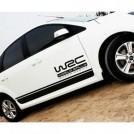 Автомобильная наклейка для кузова, VW Golf, Polo, Ford, Focus, Mondeo, Kia K2, K3, K5 Mazda 2, 3, 5, 6