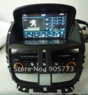 "LSQstar ST-2921 - автомобильная магнитола, 7"" TFT LCD, Touch Screen, GPS, WinCE 6.0, 128MB RAM, 128MB ROM, Bluetooth, DVD, FM/TV для Peugeot 207"