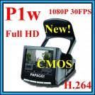 P1w - Автомобильный видеорегистратор, 5 Mp, CMOS Full HD 1920*1080P 30FPS, HDMI