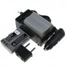 EN-EL3e - батарея LI-ION, зарядное устройство, зарядное устройство для авто: для камер Nikon EN-EL3e D70 D90 D100