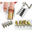 Набор многоразовых формочек для ногтей, 5 шт.