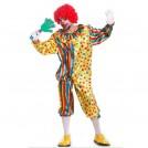 Мужской карнавальный костюм клоуна