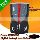 Cobra XRS-9880 - антирадар, LCD-дисплей, GPS-скоростометр, цифровые часы с оповещением, 15 частот (радио/лазер)